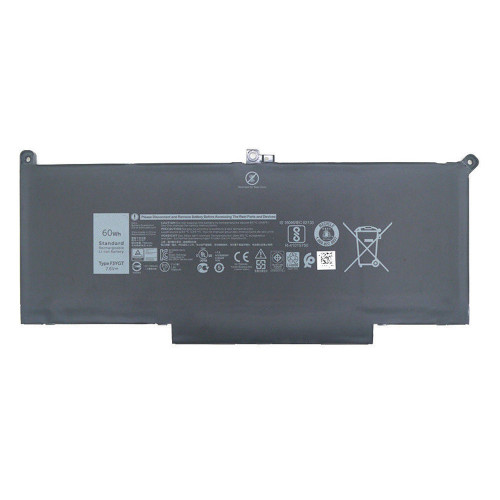 Dell F3YG PC portables Batterie - Batteries pour Dell Latitude 12 7000 7280 7480 DM6WC 2X39G