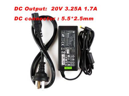 PC PORTABLE Chargeur / Alimentation Secteur Compatible Pour  PA-1650-01,ADP-65HB AD AC Adapter Power For PHILLIPS FREEVENTS X61 X67 12NB5800 12NB5808