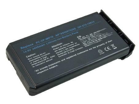NEC OP-570-76610 PC PORTABLE BATTERIE - BATTERIES POUR NEC VERSA E2000 SERIES