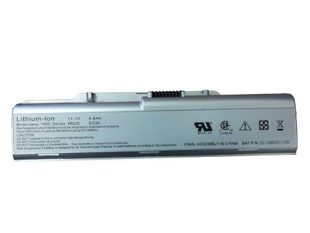 TWINHEAD 23-050430-00 PC PORTABLE BATTERIE - BATTERIES POUR TWINHEAD 10D SERIES HASEE ELEGANCE Q100  Q100C  Q100P SERIES
