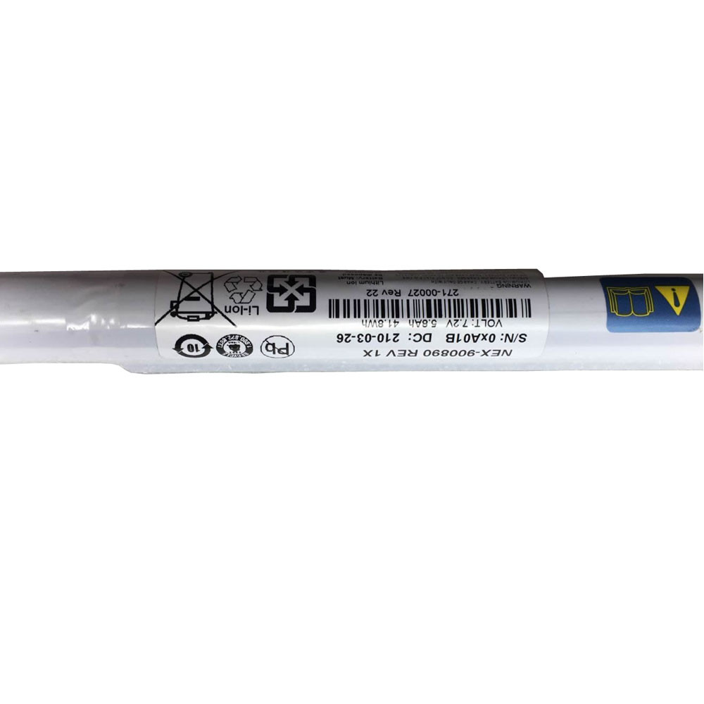 NetApp NEX-900890 PC portables Batterie - Batteries pour NetApp 271-00027 FAS3240