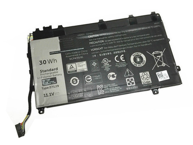 DELL 271J9 PC PORTABLE BATTERIE - BATTERIES POUR DELL LATITUDE 13 7000 SERIES