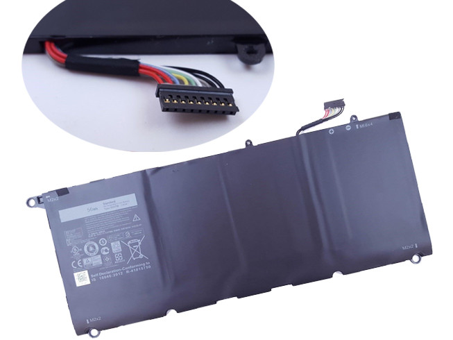 DELL 90V7W PC PORTABLE BATTERIE - BATTERIES POUR DELL XPS 13  5K9CP DIN02 JD25G