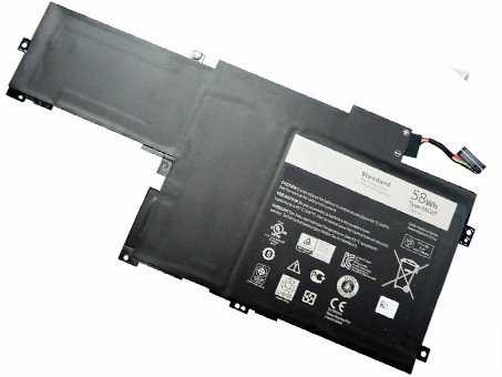 DELL C4MF8 PC PORTABLE BATTERIE - BATTERIES POUR DELL INSPIRON 14-7437 P42G SERIES
