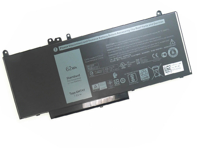 DELL 6MT4T PC PORTABLE BATTERIE - BATTERIES POUR DELL LATITUDE E5450 E5550 E5570 NOTEBOOK 15.6