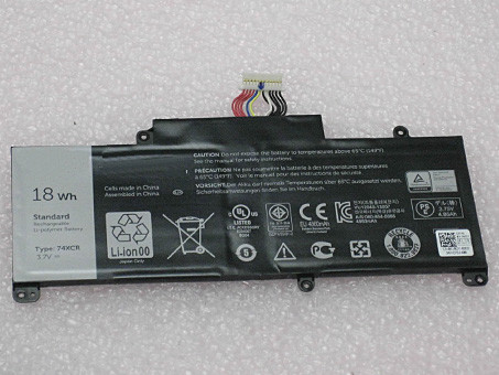 DELL 74XCR PC PORTABLE BATTERIE - BATTERIES POUR DELL VENUE 8 PRO (5830) TABLET