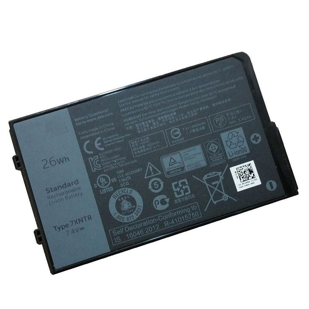 Dell 7XNTR PC portables Batterie - Batteries pour Dell Latitude 12 7202 Rugged Tablet Series