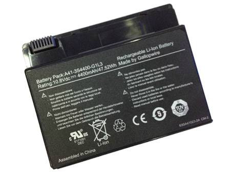 HASEE A41-3S4400-G1L3 PC PORTABLE BATTERIE - BATTERIES POUR HASEE F3400 F3000 F4200 LAPTOP
