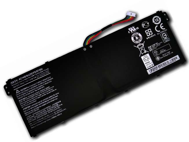 ACER AC14B18 PC PORTABLE BATTERIE - BATTERIES POUR ACER EXTENSA 2508 2519 TRAVELMATE B115-M B115-MP