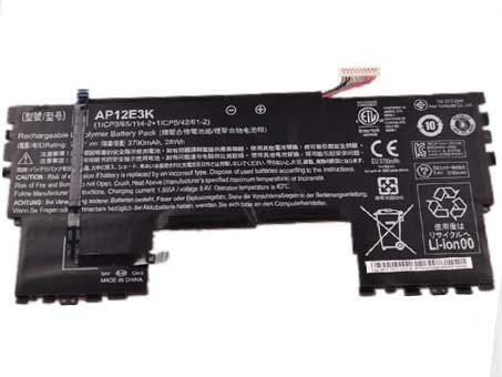 ACER AP12E3K PC PORTABLE BATTERIE - BATTERIES POUR ACER ASPIRE S7 191 ULTRABOOK 11-INCH 11CP5/42/61-2