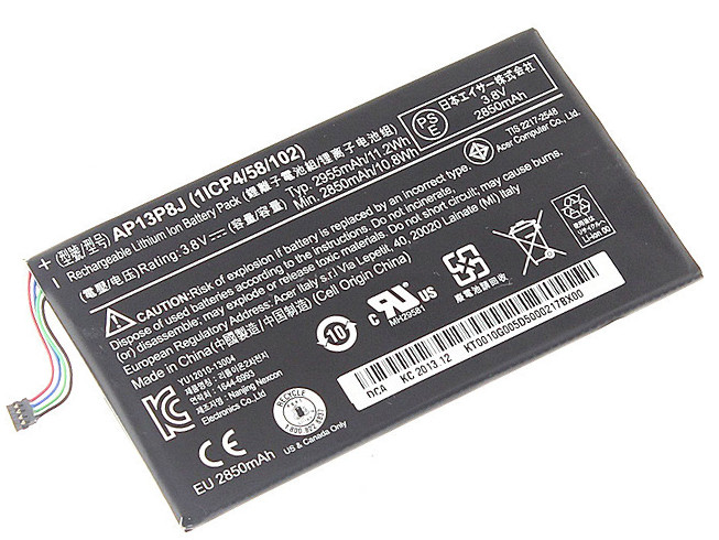 ACER AP13P8J BATTERIE - BATTERIES POUR ACER ICONIA TAB B1-720 TABLET BATTERY (1ICP4/58/102)