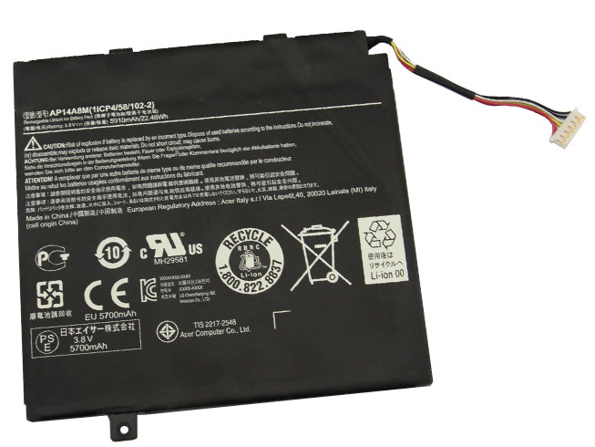 ACER AP14A8M BATTERIE - BATTERIES POUR ACER ASPIRE SWITCH 10 SW5-011 SW5-012 10-INCH TABLET