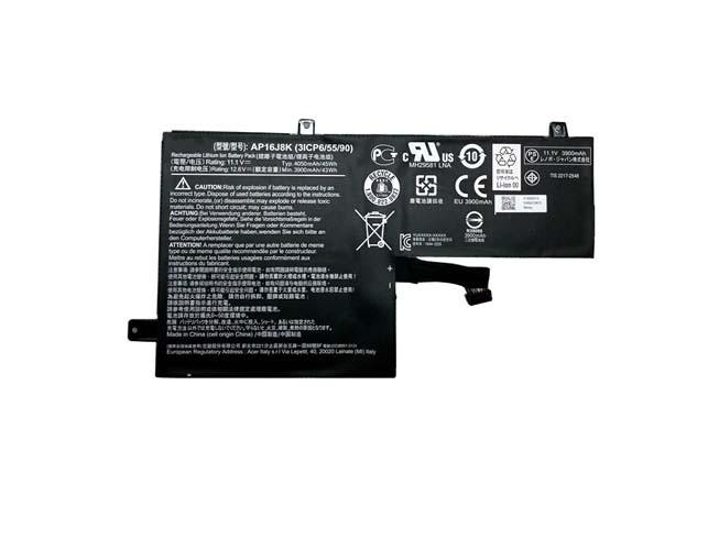ACER AP16J8K PC PORTABLE BATTERIE - BATTERIES POUR ACER AP16J8K 3ICP6/55/90 SERIES