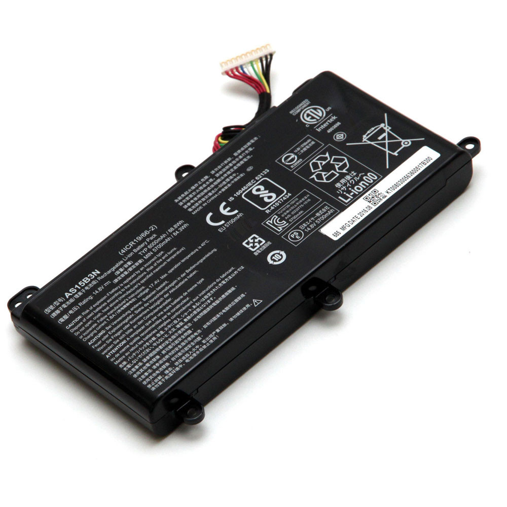 Acer AS15B3N PC portables Batterie - Batteries pour Acer Predator G9-591 G9-592 G9-791 G9-792 GX-791