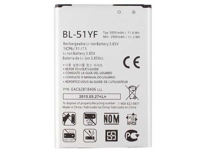 LG BL-51YF BATTERIE - BATTERIES POUR LG G4 F500 H810 H815 LS991 VS986