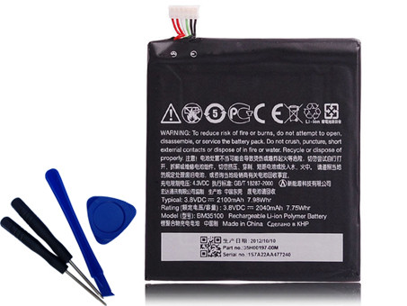 HTC BM35100 BATTERIE - BATTERIES POUR HTC ONE X G23 S720E ONE X+ S728E 720T 2100MAH WITH TOOLS