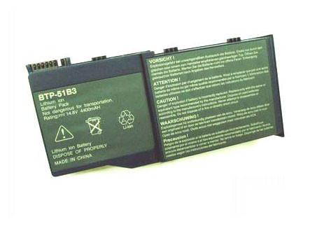 ACER BTP-51B3 PC PORTABLE BATTERIE - BATTERIES POUR GATEWAY SOLO M500 M505 SERIES