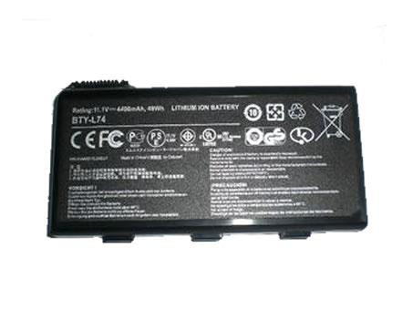 MSI BTY-L74 PC PORTABLE BATTERIE - BATTERIES POUR MSI A5000 A6000 A6200 SERIES