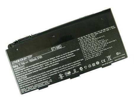 MSI BTY-M6D PC PORTABLE BATTERIE - BATTERIES POUR MSI GT780R GT663R GT660R SERIES