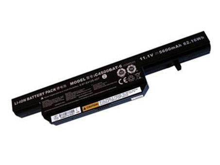 CLEVO C4500BAT-6 PC PORTABLE BATTERIE - BATTERIES POUR CLEVO C4500 C4500Q LAPTOP