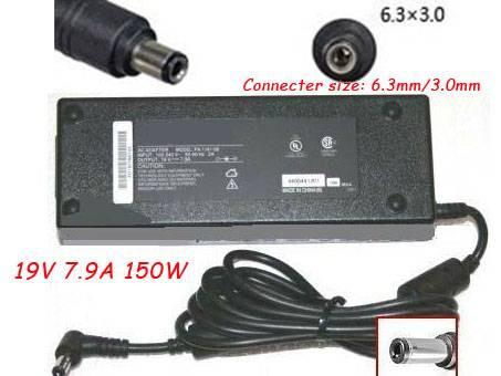 PC PORTABLE Chargeur / Alimentation Secteur Compatible Pour  M350 M675,Gateway M350 M675 AC Adapter Charger Power Supply 19V 7.9A 150W NEW