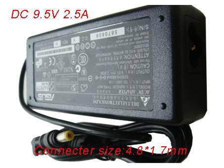 PC PORTABLE Chargeur / Alimentation Secteur Compatible Pour  9.5V 2.5A 40W,Notebook Charger 4.8*1.7MM