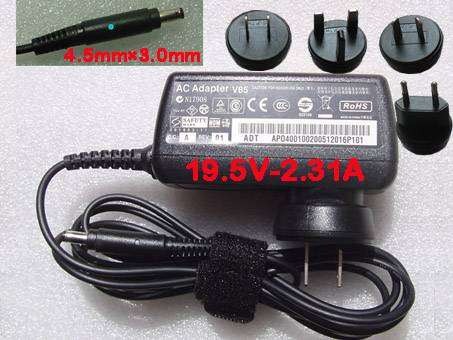 PC PORTABLE Chargeur / Alimentation Secteur Compatible Pour  ,45W AC Power Adapter Supply Battery Charger for dell XPS13-4040SLV