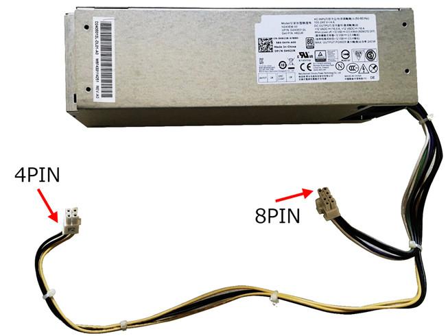 PC PORTABLE Chargeur / Alimentation Secteur Compatible Pour 240W  AC240NM-00 0706M,Power Supply Unit 240 Watt Dell 3650 Optiplex 5040 7040 AC240NM-00 0706M