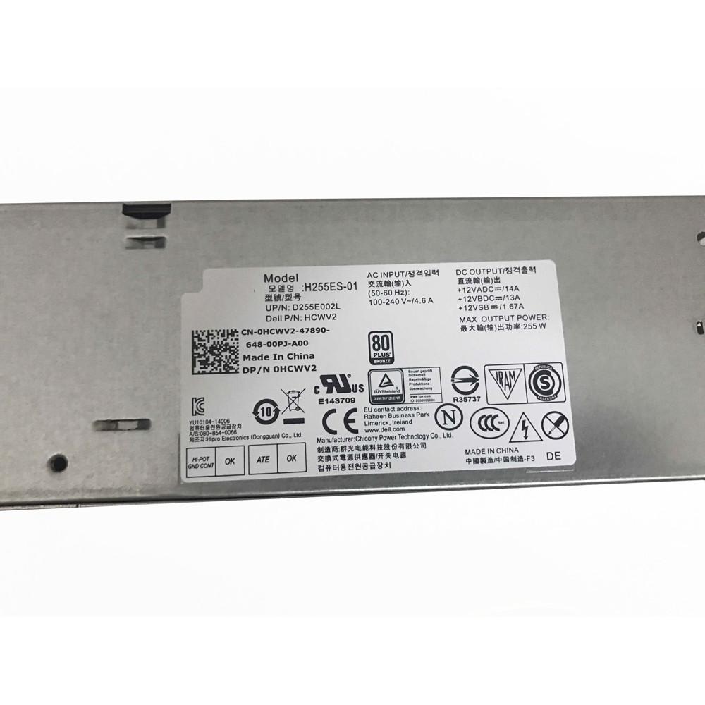 PORTABLE Chargeur / Alimentation Secteur Compatible Pour 255W  HCWV2,Dell Optiplex 3020 7020 9020 SFF