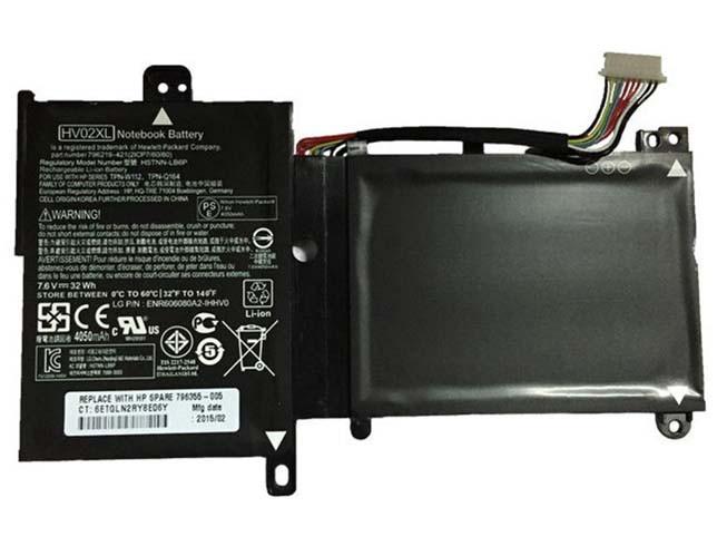 HP HV02XL PC PORTABLE BATTERIE - BATTERIES POUR HP HSTNN-LB6P TPN-Q164 TPN-W112 796219-421