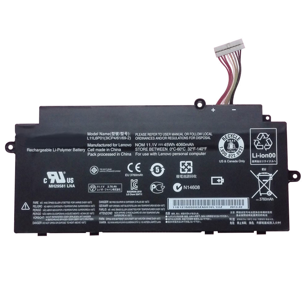 LENOVO L11M3P02 PC PORTABLE BATTERIE - BATTERIES POUR LENOVO IDEAPAD U510 U31 TOUCH