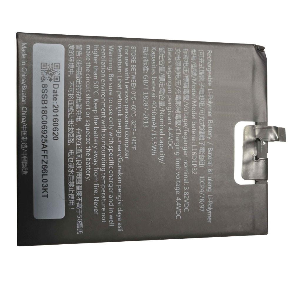 LENOVO L16D1P32 PC PORTABLE BATTERIE - BATTERIES POUR LENOVO TABLET SMART PHONE