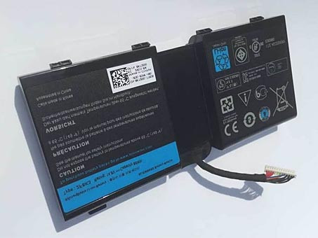DELL 0G33TT PC PORTABLE BATTERIE - BATTERIES POUR DELL ALIENWARE 17 18 17X 18X 86WH
