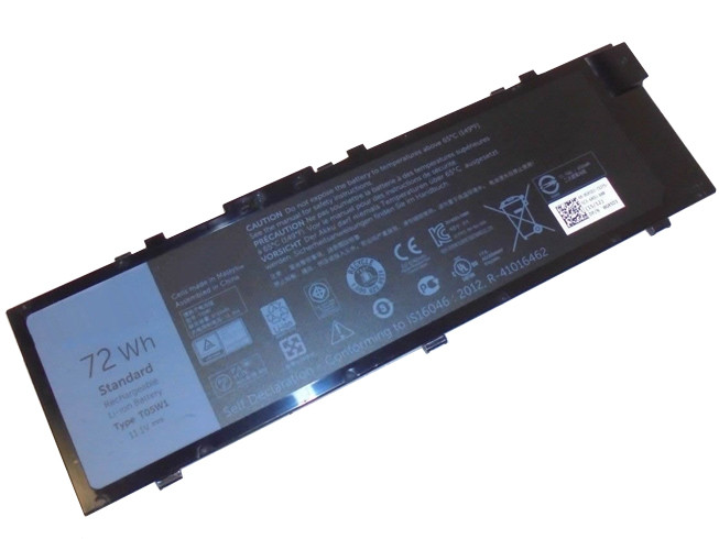 DELL T05W1 PC PORTABLE BATTERIE - BATTERIES POUR DELL PRECISION 7710 M7710