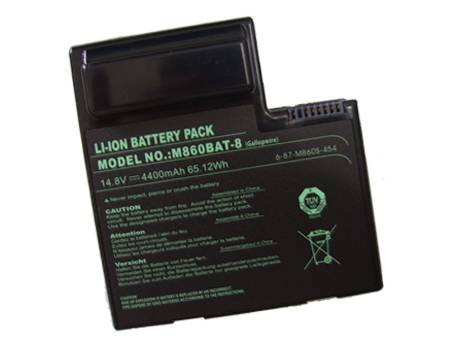 CLEVO M860BAT-8 PC PORTABLE BATTERIE - BATTERIES POUR CLEVO M860 LAPTOP