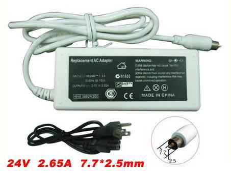 PC PORTABLE Chargeur / Alimentation Secteur Compatible Pour  M9165B/A M9388X/A,NEW 24V 2.65A Charger for Apple iBook G4 M9165B/A M9388X/A laptop