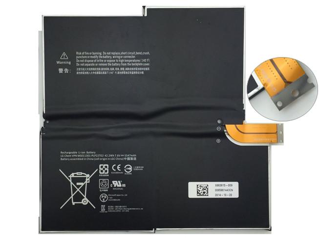 MICROSOFT 1577-9700 BATTERIE - BATTERIES POUR MICROSOFT SURFACE PRO3 3