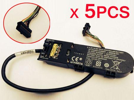 HP 398648-001 PC PORTABLE BATTERIE - BATTERIES POUR 5PCS 4.8V NI-MH RAID CONTROLLER BATTERY HP P400 P400I E500 P800