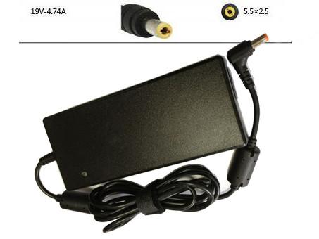 PC PORTABLE Chargeur / Alimentation Secteur Compatible Pour  SSBS19 SSBS20 UV20 UV21-S23,Asus N53SV-DH51/i5-2430M Notebook