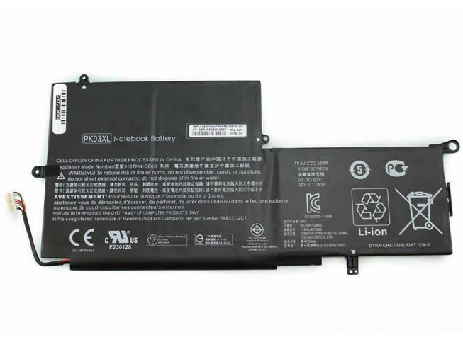 HP PK03XL PC PORTABLE BATTERIE - BATTERIES POUR HP SPECTRE PRO X360 SPECTRE 13