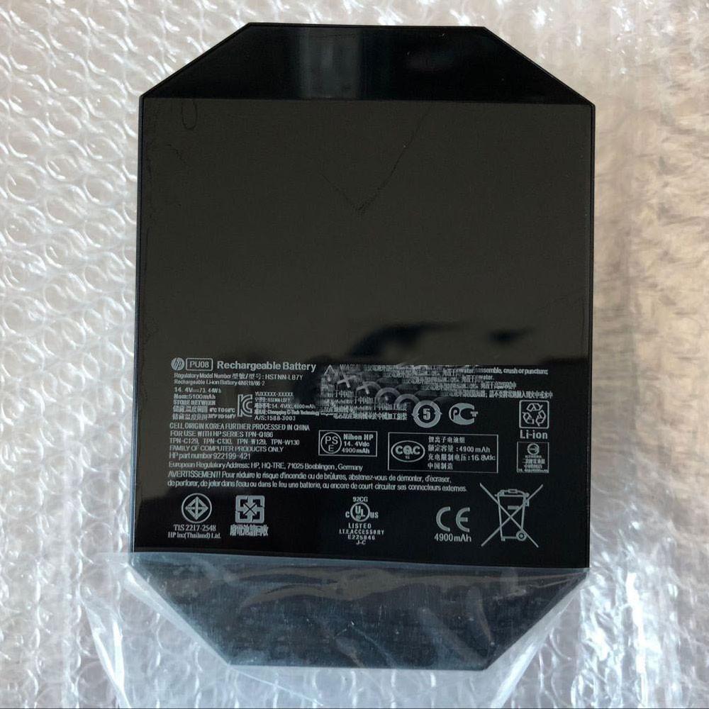 HP PU08 PC portables Batterie - Batteries pour HP HSTNN-LB7Y TPN-Q186 C129 C130 W129 W130