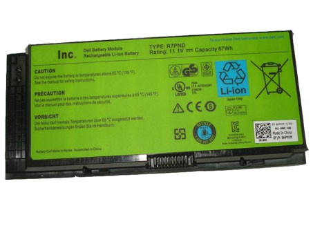 DELL FV993 PC PORTABLE BATTERIE - BATTERIES POUR DELL PRECISION M4600 M6600 LAPTOP