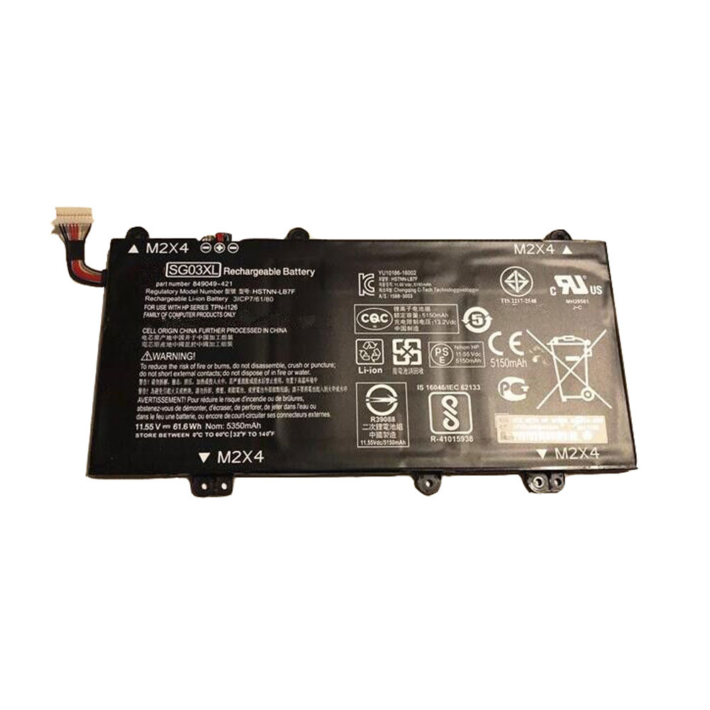 HP SG03XL PC portables Batterie - Batteries pour HP envy 17-u011nr