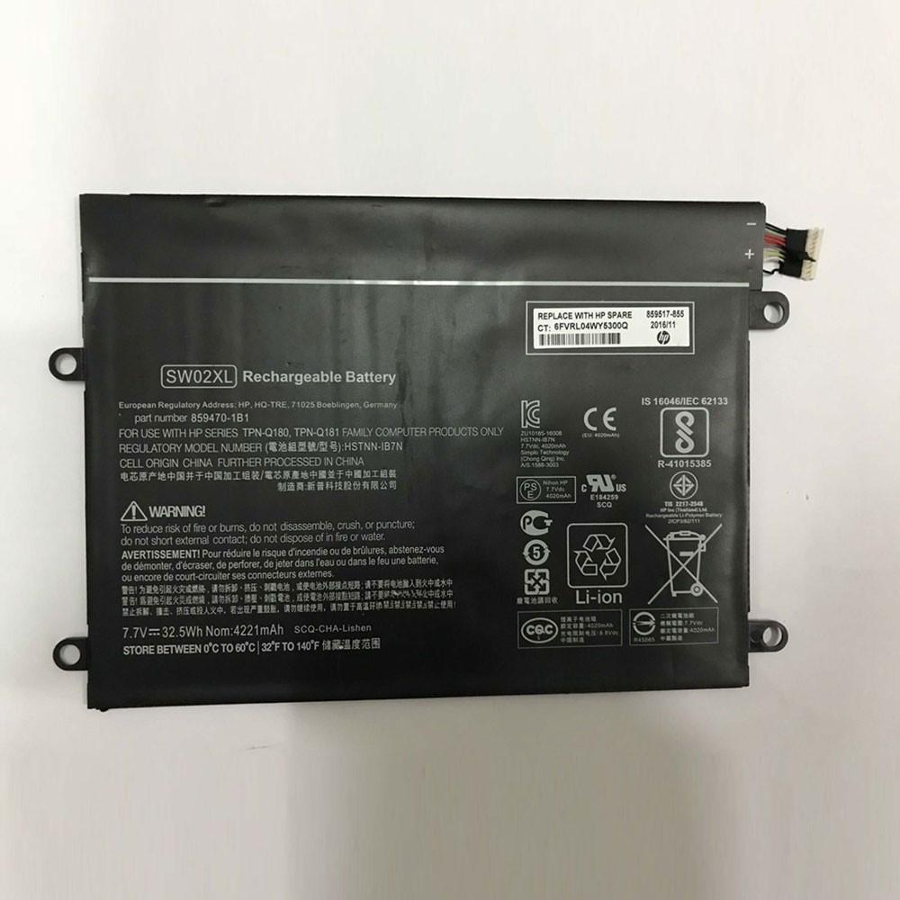 HP HSTNN-IB7N PC portables Batterie - Batteries pour HP Notebook x2 210 G2 Detachable PC 10