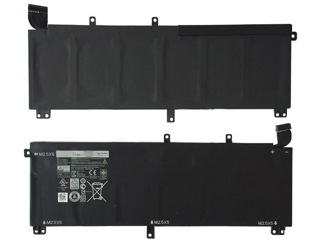 DELL H76MV PC PORTABLE BATTERIE - BATTERIES POUR DELL PRECISION M3800 & XPS 15 9530 61WH 11.1V