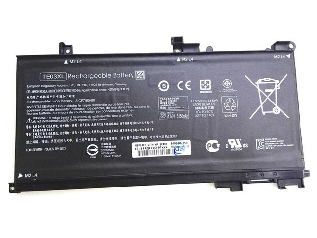 HP TE03XL PC PORTABLE BATTERIE - BATTERIES POUR HP PAVILION 15 UHD