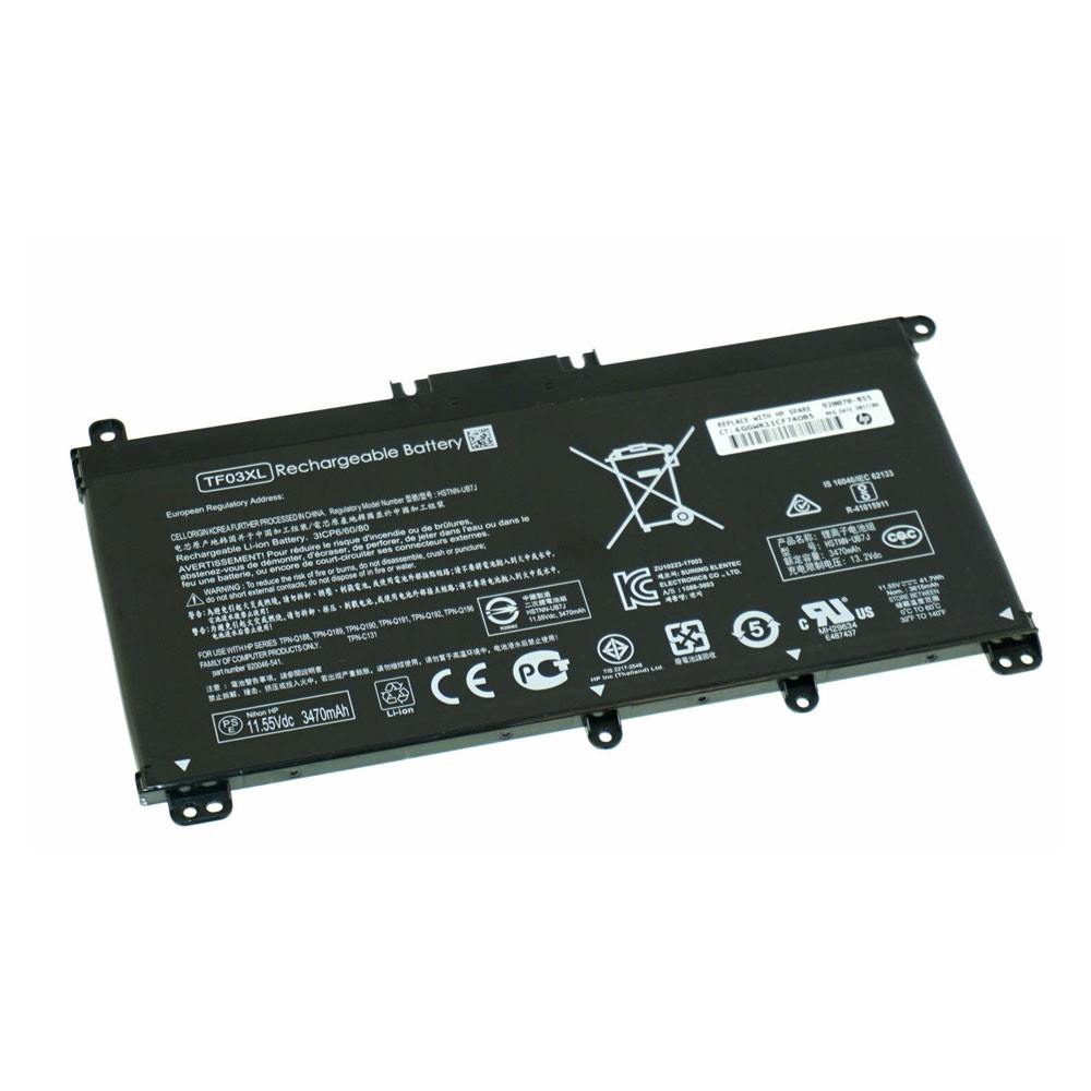 HP TF03XL PC portables Batterie - Batteries pour HP Pavilion 15-CD