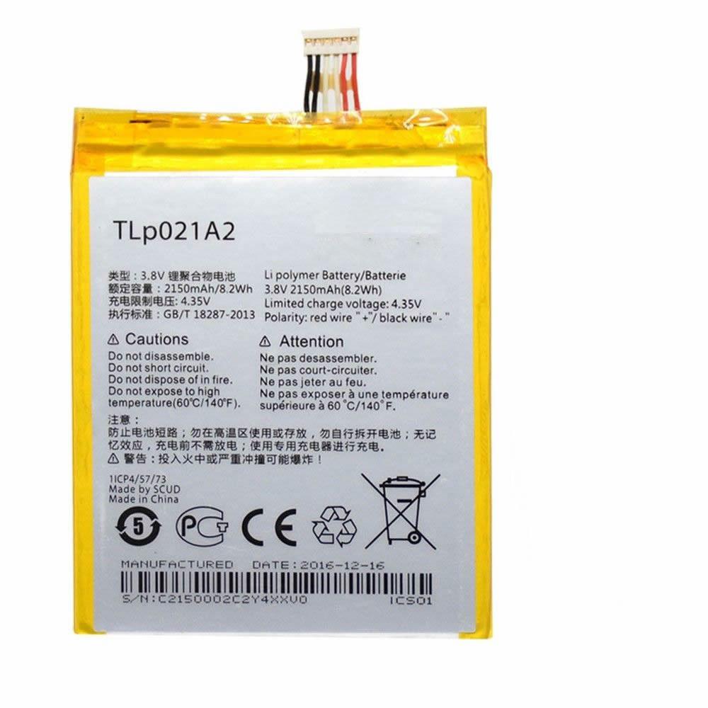 Alcatel TLP021A2  Batterie - Batteries pour Alcatel One Touch Idol 2S OT-6050 OT-6050Y TCL S830U S838M