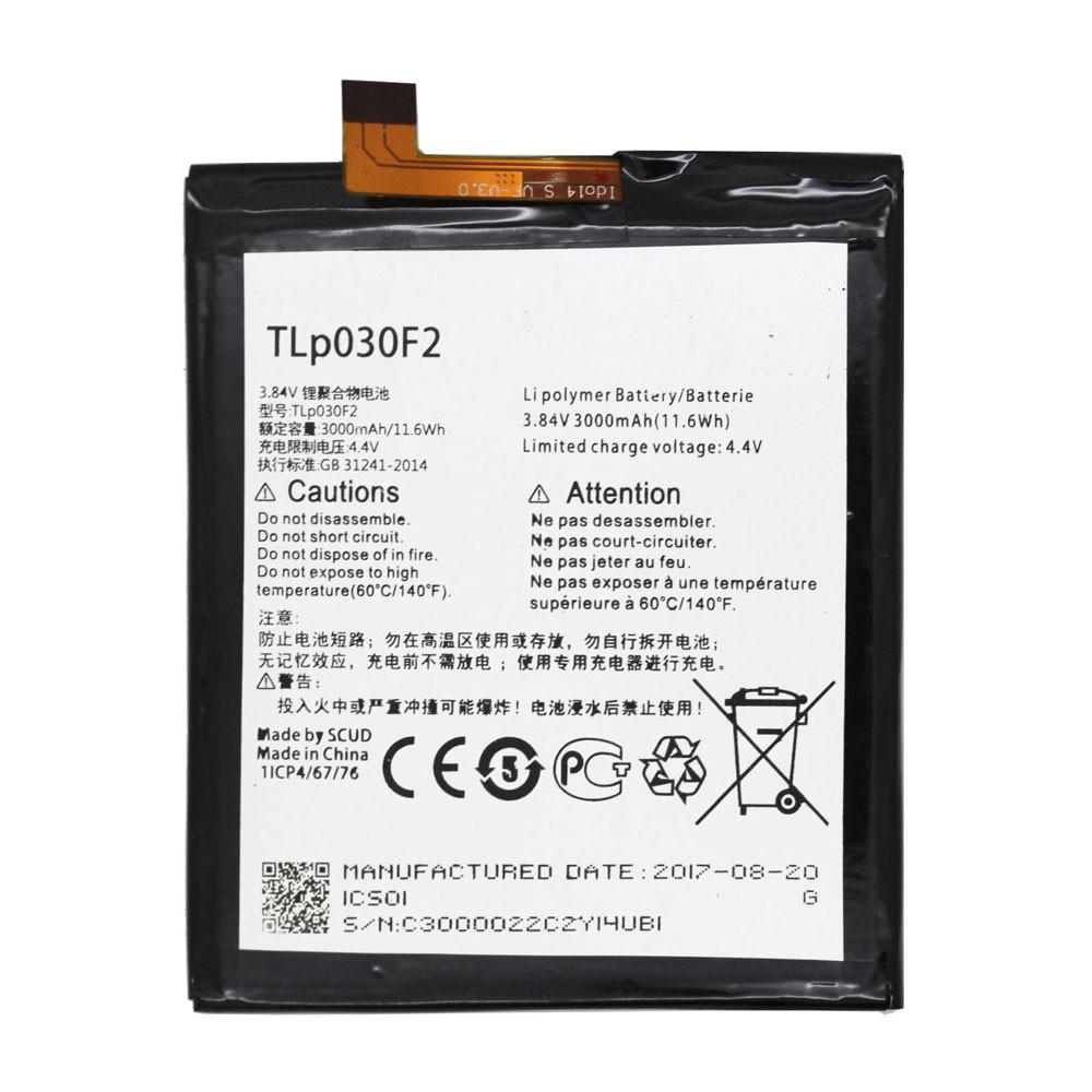 Alcatel TLP030F2  Batterie - Batteries pour Alcatel Onetouch 4S 6070O 6070K Y