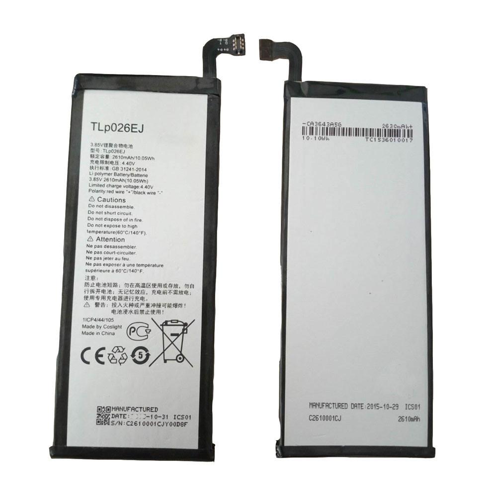 Alcatel TLp026EJ  Batterie - Batteries pour Alcatel idol 4 OT6055 6055 6055K 6055B 6055H